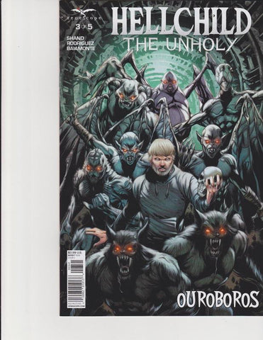 HELLCHILD THE UNHOLY #3 COVER D RICHARDSON -1/25/17