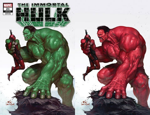IMMORTAL HULK #21 INHYUK LEE - DISCOUNT SET OF A & B - 7/17/19