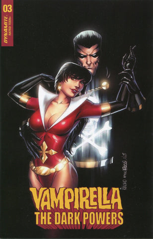 Vampirella The Dark Powers #3 Kincaid Ross Homage (Ltd. to 500)