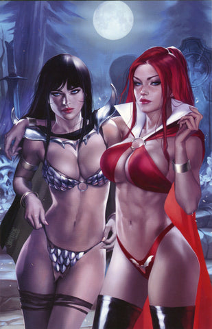 Vampirella The Dark Powers #4 Burns Crossplay Night - Ltd 300