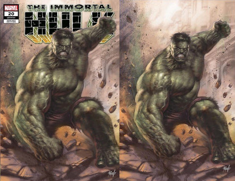IMMORTAL HULK #20 LUCIO PARRILLO DISCOUNT SET OF A & B