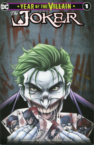 The Joker: Year of the Villain #1 Cover A - Signed