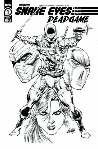 SNAKE EYES DEADGAME #1 - 1:10 COPY RATIO INK VARIANT