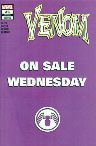 VENOM #26 - ON SALE WEDNESDAY VARIANT