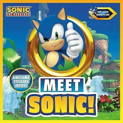 Meet Sonic! : A Sonic the Hedgehog Storybook, Paperback by Peguin Young Readers