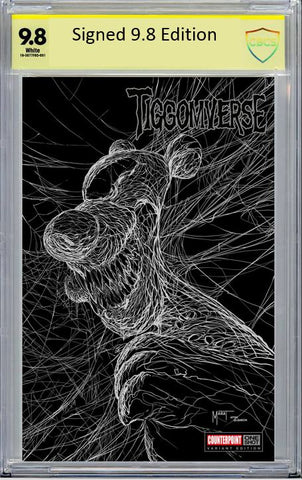 Tiggomverse Homage Cover SIGNED CBCS 9.8  - Ltd 250