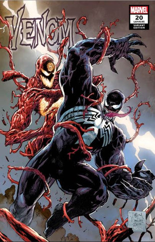 VENOM #20 TONY DANIELS EXCLUSIVE