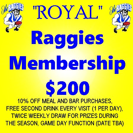 "Membership - ""Royal"" Raggies"