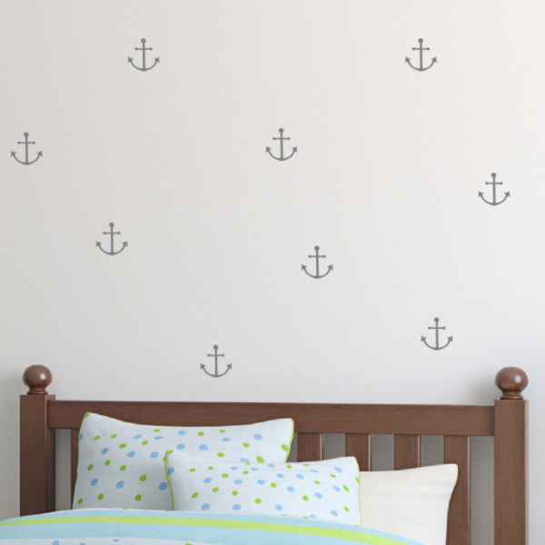 Anchor Wall Decals - Set of 100 - Create & Ship