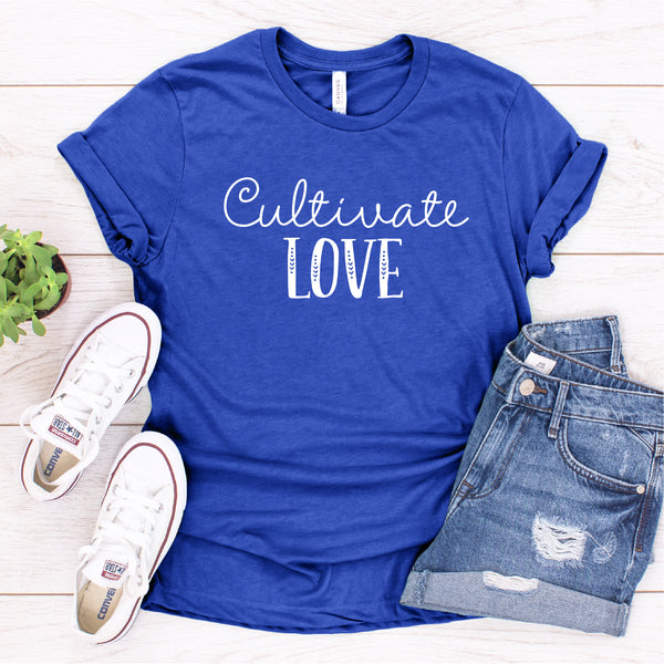 CULTIVATE LOVE UNISEX SHIRT