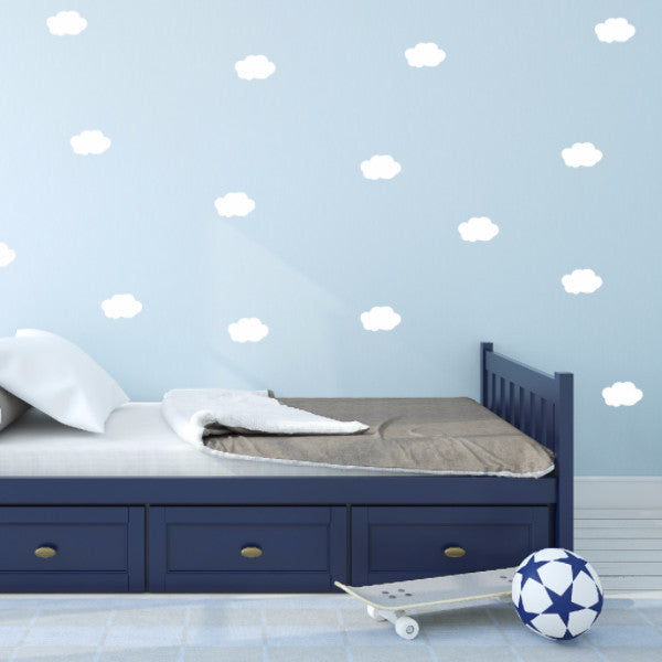 Cloud Wall Decals - Set of 100 - Create & Ship