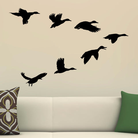 Ducks In A V Wall Decal - Create & Ship