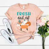 FRESH OUT OF FOX UNISEX SHIRT