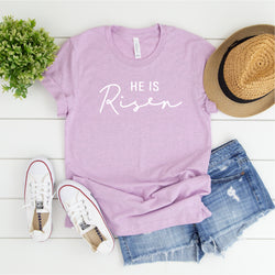 HE IS RISEN UNISEX SHIRT