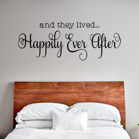 Happily Ever After Wall Decal - Create & Ship