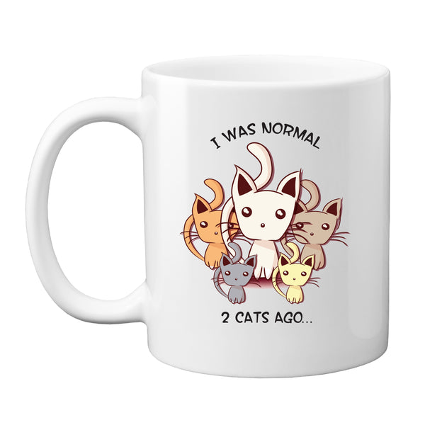 I Was Normal Two Cats Ago Coffee Mug