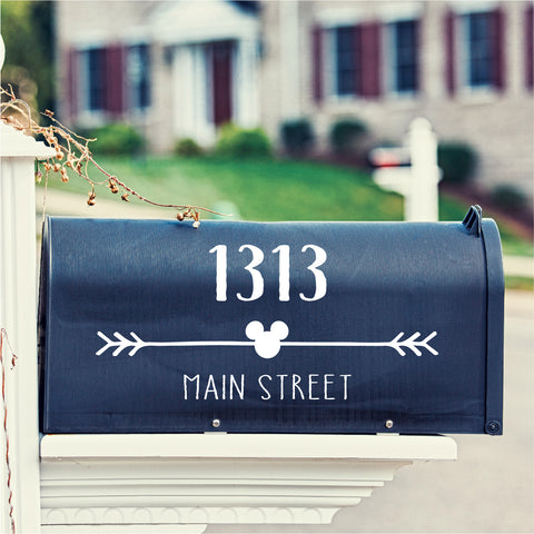 Disney Mickey Mailbox Decal - Create & Ship