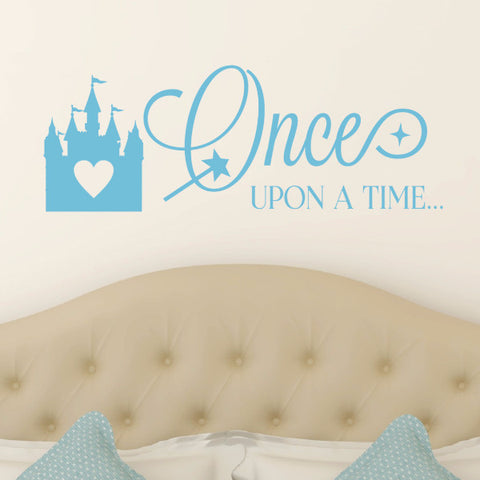 Once Upon A Time Wall Decal - Create & Ship