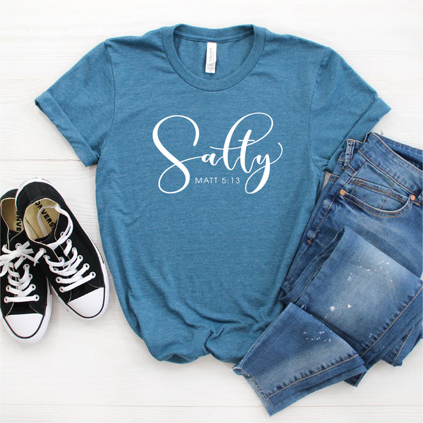 SALTY MATTHEW 5:13 UNISEX SHIRT