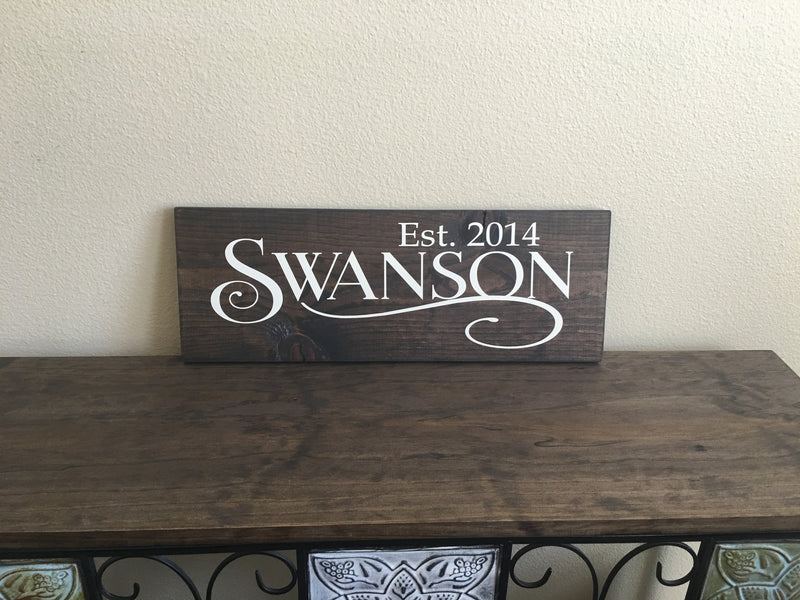 Personalized Script Wood Board - Create & Ship