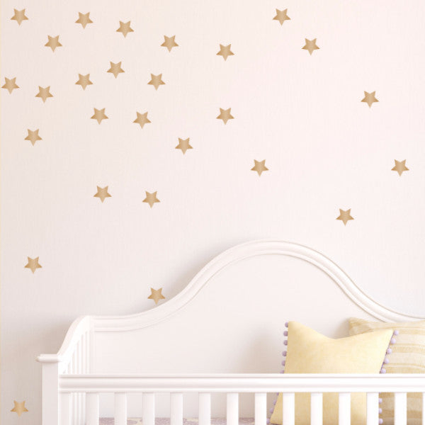 Star Wall Decals - Set of 100 - Create & Ship