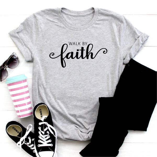 WALK BY FAITH UNISEX SHIRT
