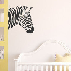 Zebra Wall Decal - Create & Ship