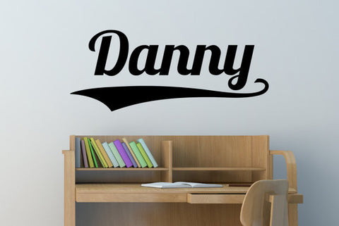 Danny Name Wall Decal - Create & Ship