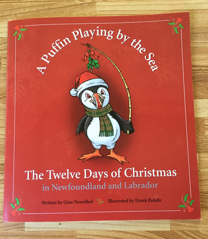 A Puffin Playing by the Sea - The Twelve Days of Christmas
