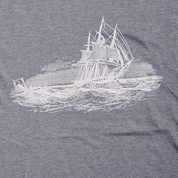 Sailboat Heathered Tee