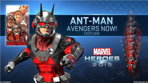 Marvel Heroes 2015 - Ant-Man Pack