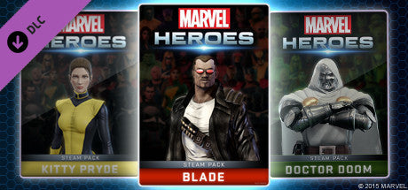 Marvel Heroes 2015 - Blade Hero Pack