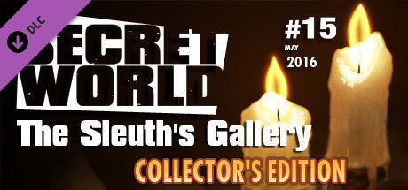 The Secret World: Issue 15 - The Sleuth's Gallery - Collector's Edition