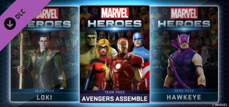 Marvel Heroes 2015 - Avengers Assemble Team Pack