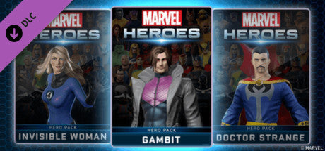 Marvel Heroes 2015 - Gambit Hero Pack