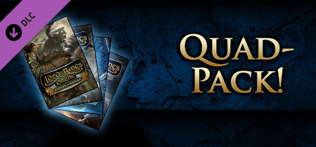 Lord of the Rings Online : Quad Pack