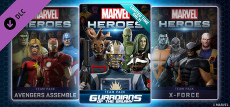 Marvel Heroes 2016 : Guardians of the Galaxy Team Pack