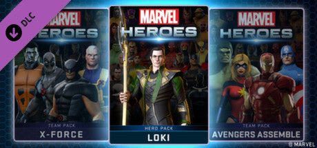Marvel Heroes 2015 - Loki Pack