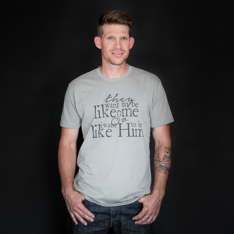 """They Want To Be Like Me"" Tee - The Talking Shirt"