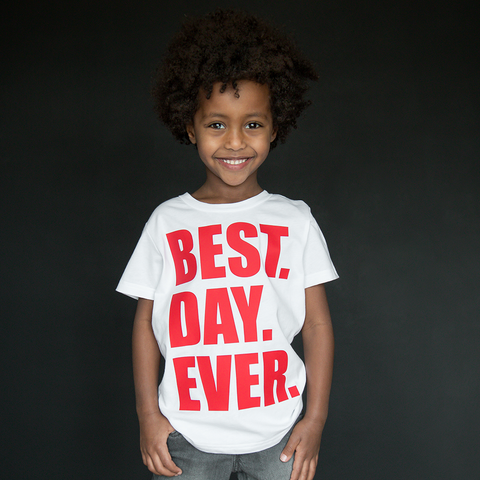 """Best Day Ever"" Unisex Tee - The Talking Shirt"
