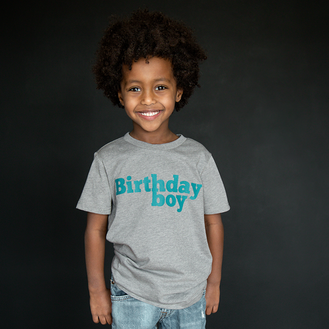 """Birthday Boy"" Unisex Fit Tee - The Talking Shirt"
