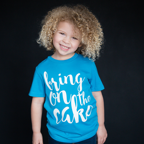 """Bring On The Cake"" Unisex Fit Tee - The Talking Shirt"
