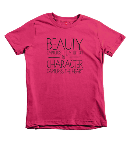 """Character Captures The Heart"" Unisex Fit Tee"