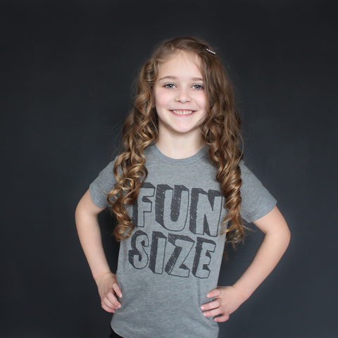 """Fun Size"" Unisex Fit Tee - The Talking Shirt"