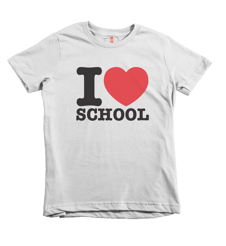 """I Heart School"" Unisex Fit Tee"