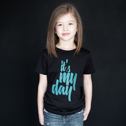 """It's My Day"" Unisex Fit Tee - The Talking Shirt"