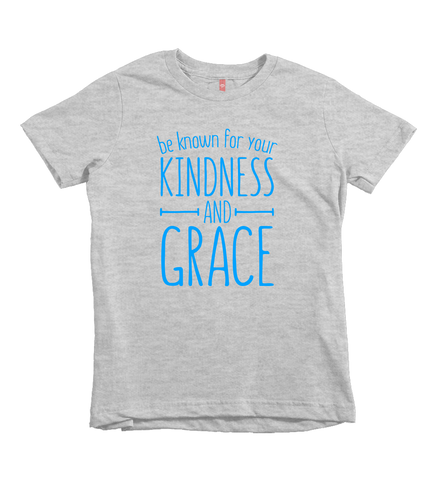 """Kindness And Grace"" Unisex Fit Tee"