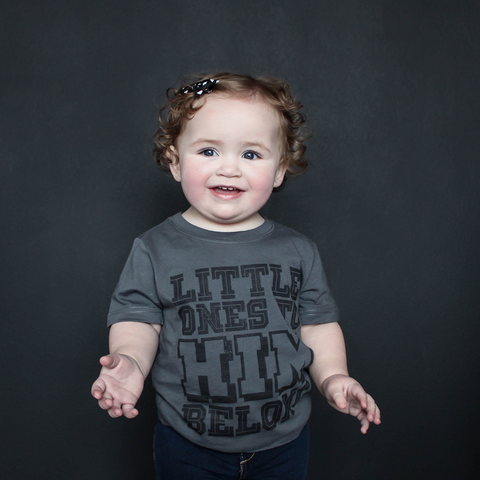 """Little Ones"" Unisex Fit Tee - The Talking Shirt"
