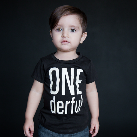 """One-derful"" Unisex Fit Tee - The Talking Shirt"