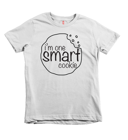 """One Smart Cookie"" Unisex Fit Tee - The Talking Shirt"